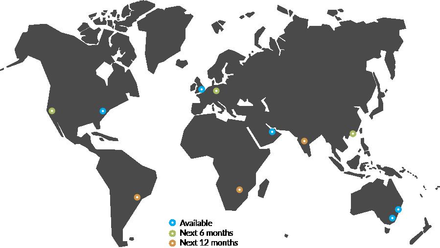 WorldMap - July 2021